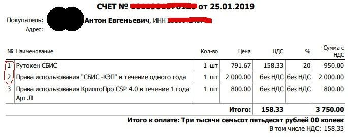 Электронная подпись для торгов за 2 950 рублей