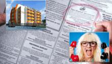 Риэлтор и газета по недвижимости