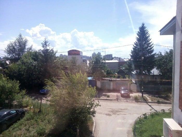 Вид из окна объекта