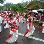 Будийский праздник не далеко от Додандувы, Шри-Ланка