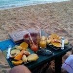 Завтрак в отеле ТопСикрет, Шри-Ланка