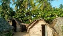 Рыбацкие домики в Шри-Ланка, Аурагама Бэй